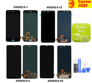 NEW OEM ONEPLUS 5 5T 6 6T LCD AMOLED DISPLAY TOUCH SCREEN DIGITIZER ASSEMBLY