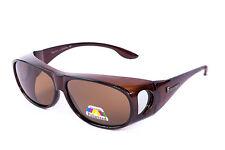 Figuretta Sonnenbrille Überbrille braun TV Werbung Sonnenschutz UV Brille