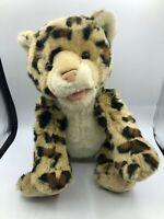 Build A Bear BAB World Wildlife Fund WWF Leopard Plush Soft Stuffed Toy Animal