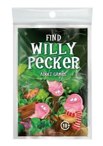 Bachelorette Willy Pecker Book Game Fun Party Gag Gift Toys For Adult Men Women