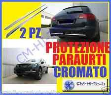 PROFILO CROMATO IN GOMMA CURVABILE PER FIANCATE SPORTELLO PARAURTI AUTO SUV TAXI