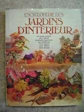 Livre Encyclopédie des jardins d'intérieur /BB10