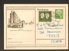 HANNOVER / DEUTSCHE INDUSTRIE-MESSE ,Entier-Postal 1954