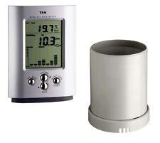 Pluviomètre Funk-Regenmesser Mousson Tfa 47.3003 Radio-Thermomètre Regenmonitor