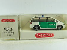 "Wiking H0 1:87 Nr: 104 0727  Ford Galaxy ""Polizei""  (ML1014)"