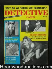 Detective Cases May 1959 Black Widow's 12 Lives