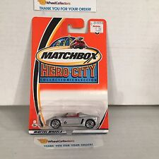 Opel Speedster #6 * Silver * Matchbox Hero City * HA11