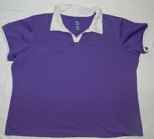 WOMENS athletic BLOUSE SHIRT TOP = JUNONIA = SIZE 3XL = BA57
