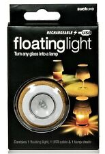 SUCK UK Official USB Rechargeable Floating LED Light & Shade - Great Gift Idea