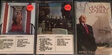 3-Cassette Lot Ralph Stanley