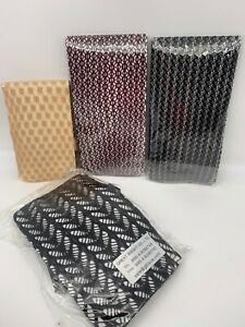 4 pair Fishnet/Openwork Tights-ONE SIZE- Black, Tan, Wine - SAMPLES (1030-Lot 2)