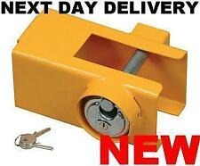 NEW NEILSON CARAVAN TRAILER UNIVERSAL SECURITY SAFETY SAFE HITCH LOCK HITCHLOCK
