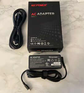 AC Adapter Lenovo ThinkPad T470s T480 T480s T580 E480 E485 E580 Type-C Charger