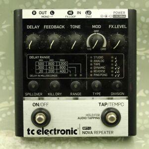 TC Electronic RPT-1 Nova Repeater Delay Guitar effect pedal
