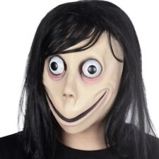 Momo Mask Scary Latex Halloween Mask SHIPS FROM CANADA NOT CHINA