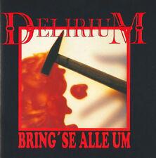 """DELIRIUM """"Bring' Se Alle Um!"""" CD 1993 [mit Metallica rip off cover]"""