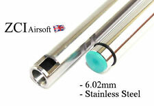 ZCI Airsoft Stainless Steel Inner Barrel for AEG 229mm (6.02mm Tightbore)