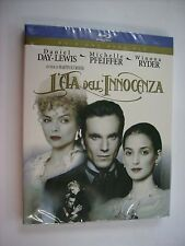 L'ETA' DELL'INNOCENZA - BLU RAY NEW SEALED - MICHELLE PFEIFFER - MARTIN SCORSESE