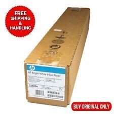 NEW GENUINE HP Bright White Inkjet Paper C6035A 610mm x 45.7 m