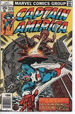 MARVEL COMICS CAPTAIN AMERICA #223 NM- JULY 1978 CALL HIM ANIMUS!!!