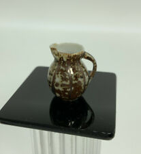 Dollhouse Miniature Artisan Andrea Fabrega Pitcher (r)