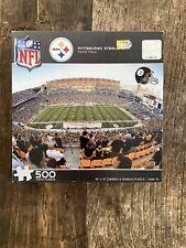 500 piece Pittsburgh Steelers Heinz Field Jigsaw Puzzle- New In Box