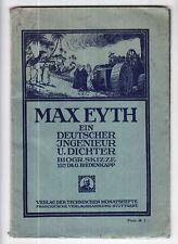 Max Eyth * Dr. Georg Biedenkapp * 1910