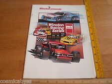 El Cajon Speedway 1989 racing program Winston series stock cars