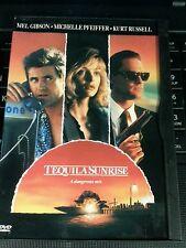 Tequila Sunrise DVD Mel Gibson Michelle Pfeiffer Kurt Russell Raul Julia