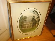 Framed, Oval Hemitage  Museum In Russia Painting /Print with Glass  --Signed