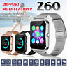 Z60 bluetooth Smart Watch Stainless Support SIM TF Camera  Fitness IOS