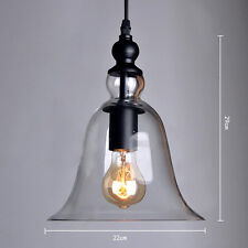 MODERN VINTAGE INDUSTRIAL RETRO LOFT GLASS CEILING LAMP SHADE PENDANT LIGHT SALE