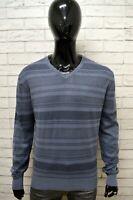 Maglione Uomo MARLBORO CLASSICS Taglia XL Pull Pullover in Cotone Sweater Man
