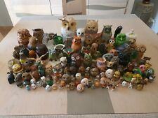 Collection hiboux et chouettes