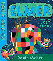 (Good)-Elmer and the Lost Teddy (Book and CD) (Paperback)-McKee, David-184270781