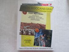 Verdi: Simon Boccanegra Gavazzeni, Cappuccilli, DOMINGO, RICCIARELLI - 3 CD NEW