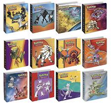 4x Pokemon Mini Album Binders Bundle  - Sleeves Included -