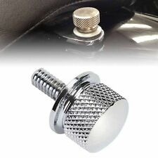 New White Stainless Steel Seat Bolt Billet Fit For Harley Sportster Street Glide