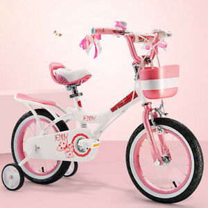 Children's Bicycle 3-year-old Girl baby Stroller Pink Bicycle Gift RoyalBaby