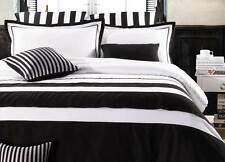 Striped Microfiber Quilt Covers
