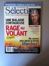 """Selection Reader's Digest Magazine Novembre 2002  """"Rage au Volant, Bruce Willis"""