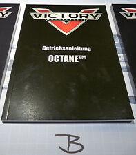 Betriebsanleitung Victory Octane - deutsch -