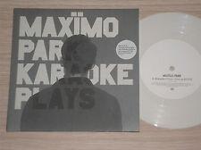 "MAXIMO PARK - KARAOKE PLAYS - 45 GIRI 7"" NUMBERED WHITE VINYL UK PART 2 OF 3"