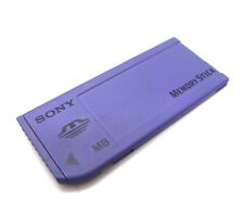 8MB MEMORYSTICK CAMERA MEMORY CARD FOR SONY - 8 MB PURPLE FULL SIZE MEMORY STICK