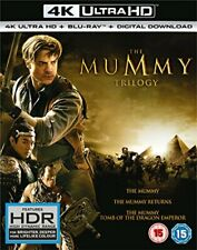 The Mummy Trilogy [4K ultra HD + Blu-ray] [2017] [DVD][Region 2]