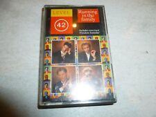LEVEL 42 - Running In The Family - 1987 UK 11-track cassette album
