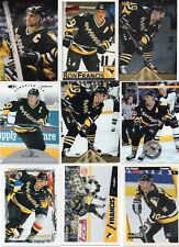 9-ron francis all pittsburgh penguins card lot #1 nice mix