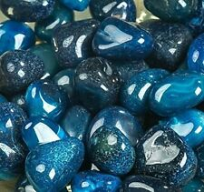Blue River Rocks Pebbles Outdoor Decorative Stones Natural Gravel For Aquariums