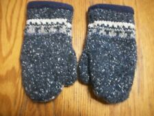 Fleece Lined Sweater Mittens Warm Winter Youth