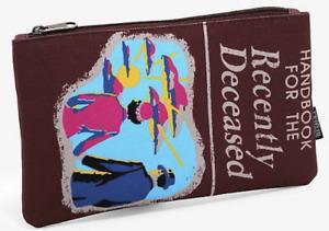 Loungefly Beetlejuice Handbook For The Recently Deceased Makeup Bag